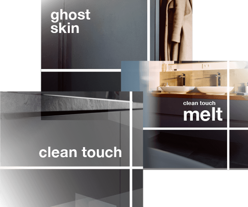 Clean touch - melt - ghost skin